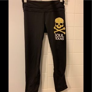 Lululemon for Soulcycle Pace rival crop - size 4